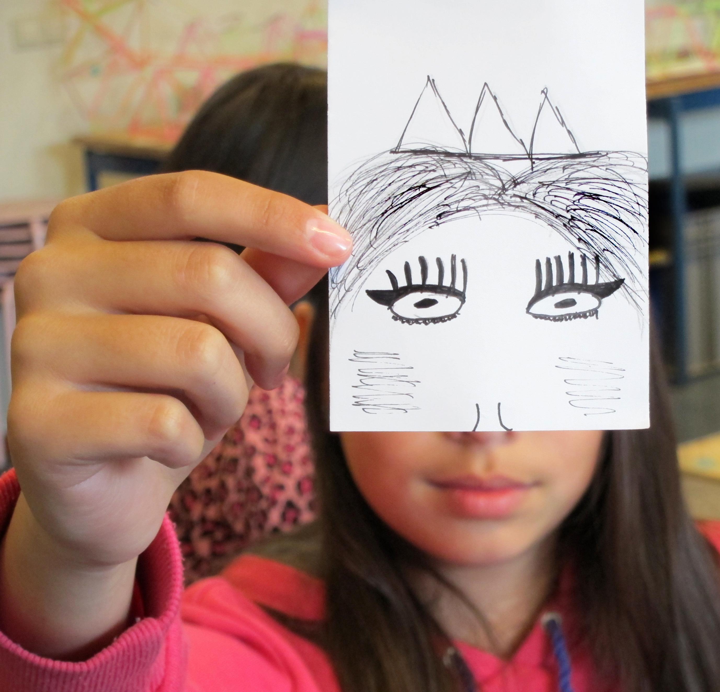 Portretten Van Papier En Onszelf Woord Amp Beeldclub