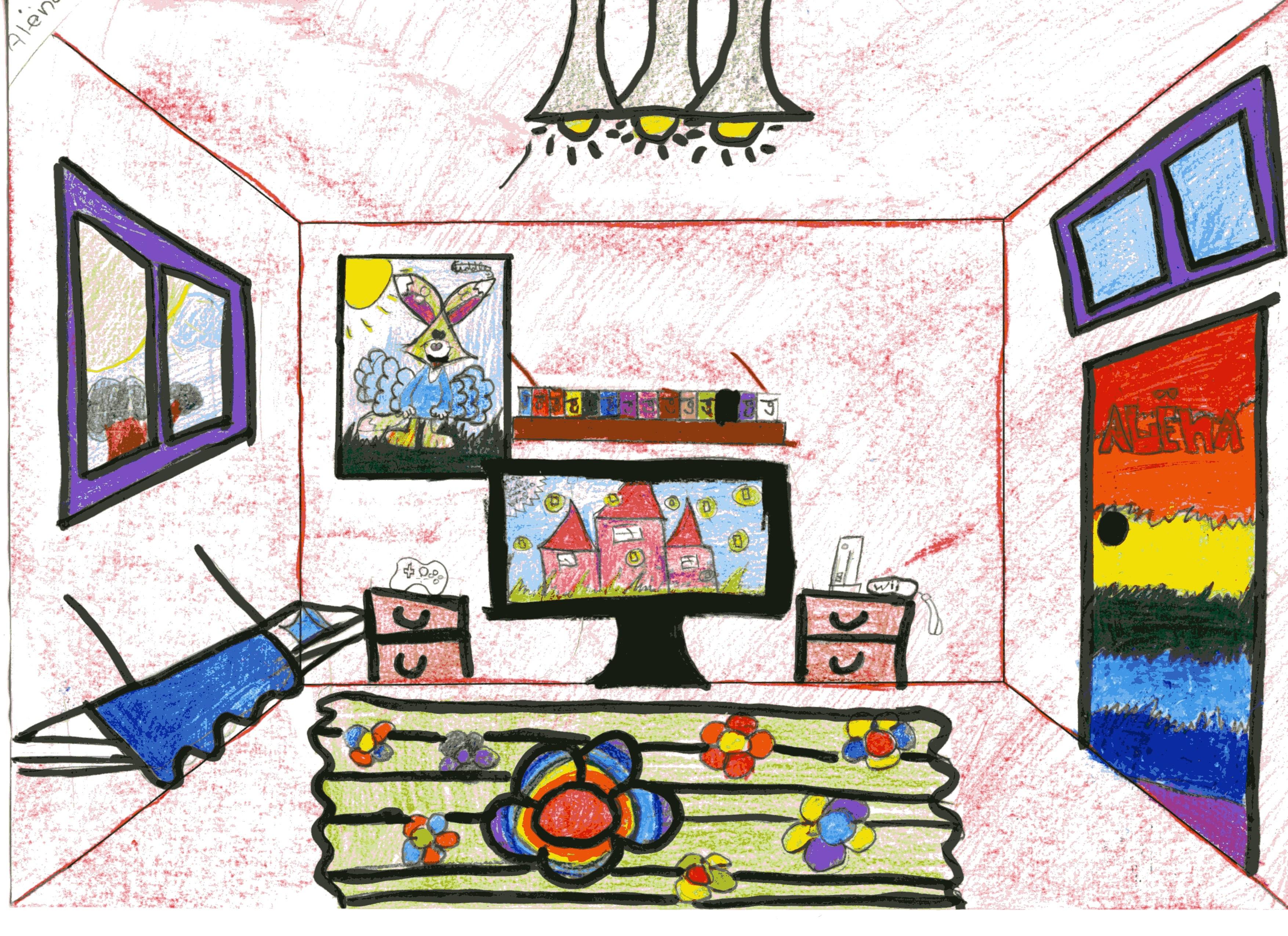Lessen perspectief woord beeldclub - In een kamer ...